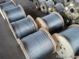 Канат стальной 22 мм 10 ГОСТ 3066-80