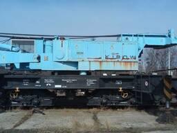 Железнодорожный кран ЕДК – 900 ( ж/д кран EDK-900 ) г/п 125
