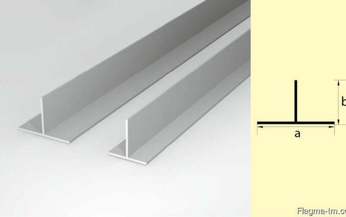 Алюминиевый тавр 15x15x2 мм АД31Т5 ГОСТ 22233-93