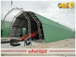 Ангар быстровозводимый арочный - фото 2