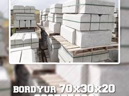 Бордюр в Ашхабаде разного размера бортовые камни