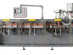 Горизонтальная автоматическая машина для упаковки в пакеты