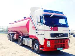 Компания «Gushgy» организует перевозки сжиженных и сжатых газов.