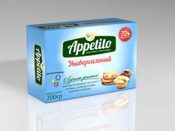 "Маргарин средне калорийный ""Appetito"" с мдж 72% 200/500гр"