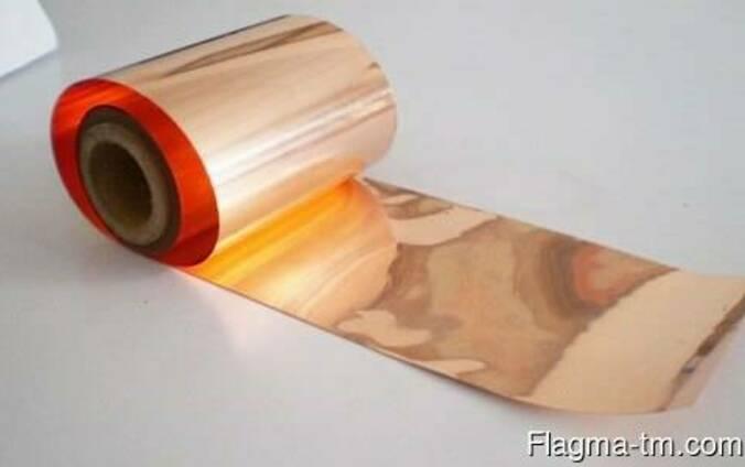Медная кровельная лента 1.1 мм М1Е ГОСТ 1173-2006