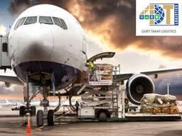 Международные авия, ж/д, контейнерные и авто перевозки.