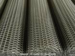 Рифленая нержавеющая сетка 10x10x1 мм 12Х18Н10Т ГОСТ 3826-82 - фото 1
