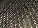 Рифленая нержавеющая сетка 20x20x1.2 мм 12Х18Н10Т ГОСТ 3826- - фото 1