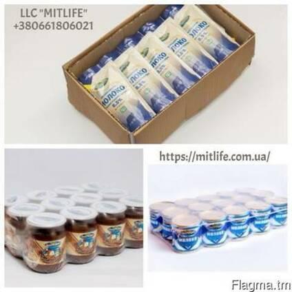 Сгущенное молоко оптом ГОСТ Ириска LLC Mitlife Украина