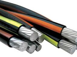 Силовой кабель 1x2. 5 мм АВВГ ГОСТ 16442-80