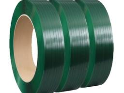 Упаковочная ПЭТ лента, полиэстеровая стреппинг лента 19х1,0мм