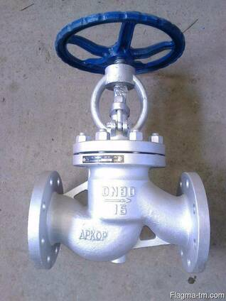 Вентили запорные из нержавеющей стали (Ру16)