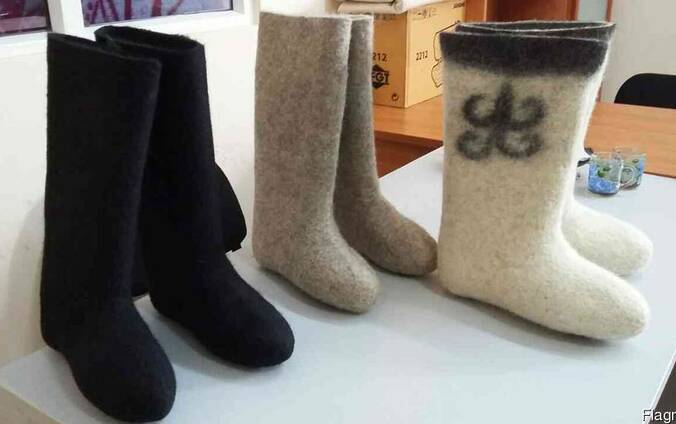 Вяленная обувь (Валеньки)