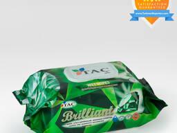 Wet wipes Green Brilliant 120pc Täç