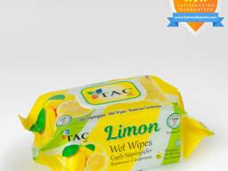 Wet wipes Lemon 100pc Täç
