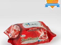 Wet wipes Red Brilliant 120pc Täç